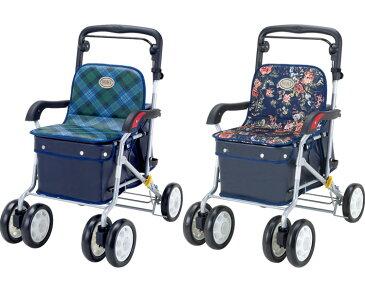 シルバーカー アルミ製ノーブル ENB-011 マキテックシルバーカー 軽量 シルバーカー 手押し車 老人 シルバーカート 高齢者 介護用品 歩行補助