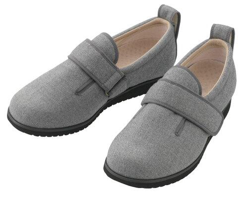 介護シューズ ダブルマジックIIヘリンボン 1037 男性用 あゆみ 介護靴 介護用品 靴 あゆみシ...
