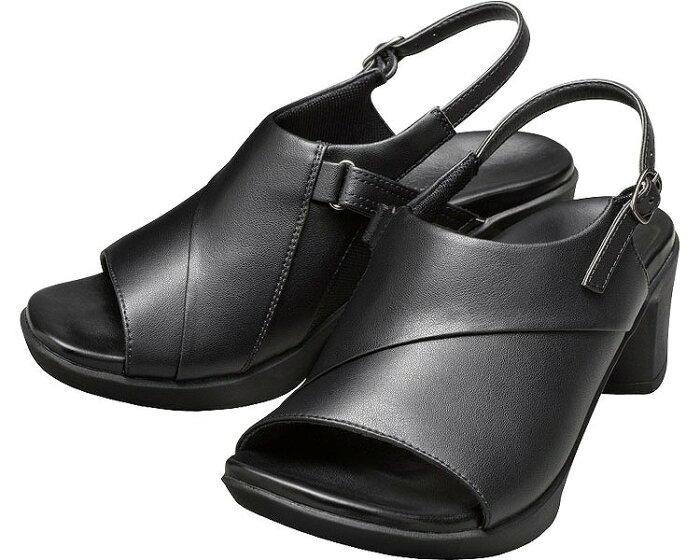 レディース サンダル アーチフィッター ワーク304 婦人用 AKAISHIオフィス サンダル 職場用 仕事用 靴 サンダル 女性用