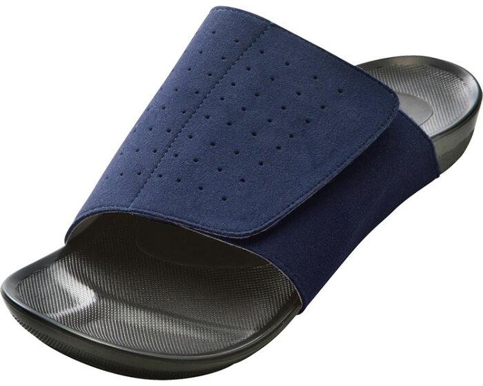 室内履き スリッパ アーチフィッター601 (LL、3L) AKAISHIルームシューズ 部屋履き スリッパ 靴 介護 高齢者 むくみ 送料無料