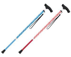 カモフラステッキ 伸縮 AS-90 マキテック杖 介護 歩行補助 ステッキ 伸縮式杖 高齢者 シニア 介護用品