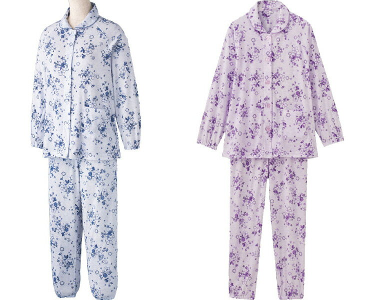 大きめボタンプチサイズパジャマ97896ケアファッションパジャマ寝巻きねまき大きめボタンユニバーサルファッションレディースミセス婦人用女性用シニアファッション愛情介護介護衣類介護衣料高齢者介護用品2021SS