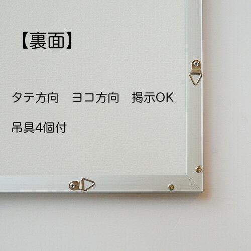 【屋外用 ファイル付】ポスターフレームST811 サイズ A1 /額縁 ポスターフレーム/841x594mm /丈夫で長期掲示用 ポスターフレーム 額縁 簡易防水仕様
