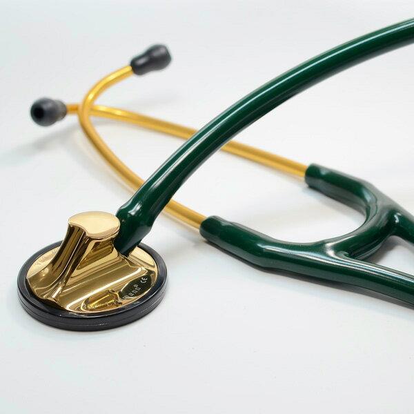 リットマン 聴診器 Master Cardiology ハンターグリーン  (2183)ブラス・エディション  Littmann マスターカーディオロジー ステート:聴診器のパネシアン