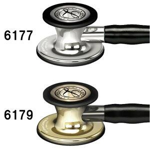 リットマン聴診器CardiologyIVミラーフィニッシュ/ブラック6177Littmannカーディオロジー4ステート