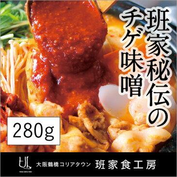 チゲ味噌 280g スタンドパック(徳山物産)