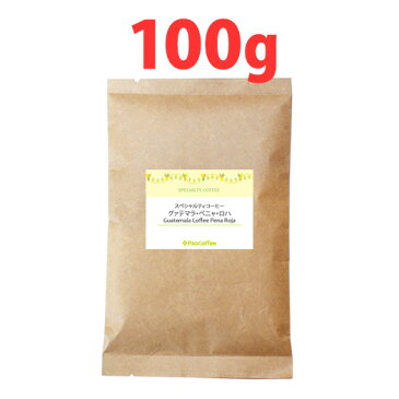 【お試し用ミニサイズ】グァテマラ・ペニャ・ロハ100g / 珈琲豆 スペシャルティコーヒー豆
