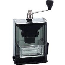 ハリオ手挽き固定式コーヒーミルクリアコーヒーグラインダーMXR-2TB