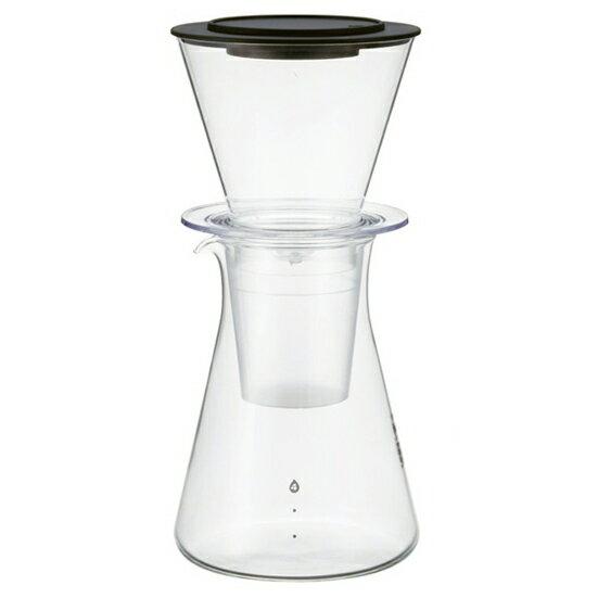 【水出し珈琲 アイスコーヒー 】iwaki(イワキ)パイレックス・ウォータードリップコーヒーサーバー KT8644-CL1 4人用