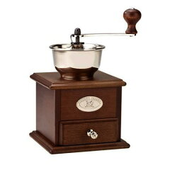 【コーヒーミル】家庭で手軽に楽しめるプジョー・手挽き コーヒーミル 手動式プジョー手挽き ...