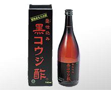 クエン酸とアミノ酸を含有『黒コウジ酢』こうじ黒酢・黒もろみ酢 【smtb-TD】【saitama】