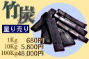 竹炭の量り売り1kg〜 5000円(税別)以上で送料無料