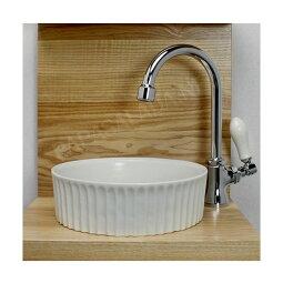 PIVOTスワン立水栓×ベッセル型手洗器3点セット