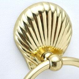 真鍮製タオルリングシェル