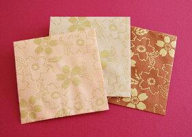 京染和紙ぽち袋桜柄