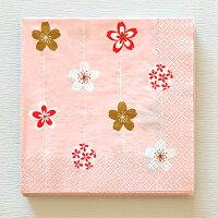 ペーパーナプキン手まり桜