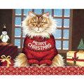 LANGラングクリスマスカードネコちゃんのクリスマスSqueaky'sChristmas