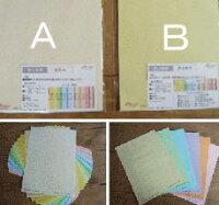 色上質サンプルセットどちらかA(33色各1枚)orB(厚さ6種類各1枚)