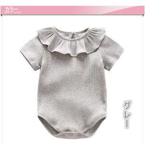 e2cd1a47822a8 ベビーロンパース新生児短袖Tシャツ赤ちゃん前開き連体服新生児カバーオール春夏