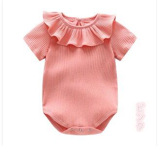 ac7456d9a2f519 送料無料ベビー服ロンパース新生児ボディスーツカバーオール長袖無地綿キッズワンピース赤ちゃん長ズボン