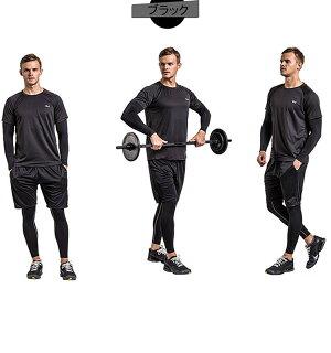 送料無料伸縮性がある.身体にしっかりフィットスポーツウエアヨガウエア運動服ジムメンズ男青年少年レギンスカッコイイスポーツパンツランニングパンツ人気流行