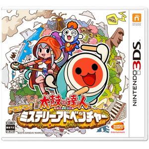 【新品】【3DS】 太鼓の達人 ドコドン!ミステリーアドベンチャー [CTR-P-BT8J]【…