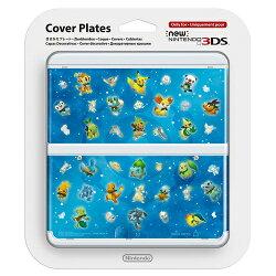 【新品】【3DS】Newニンテンドー3DSきせかえプレートNo.063ポケモン超不思議のダンジョン[KTR-A-CPCR]【周辺機器】【02P05Sep15】