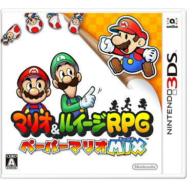 【新品】【3DS】 マリオ&ルイージRPG ペーパーマリオMIX [CTR-P-AYNJ]