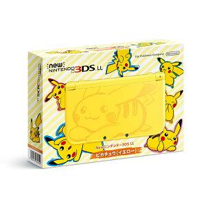 【予約】【3DS】 11月18日発売予定 Newニンテンドー3DS LL ピカチュウ【イエロー…