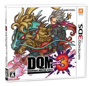 【新品】【3DS】ドラゴンクエストモンスターズ ジョーカー3 [CTR-P-BJ3J][ドラク…