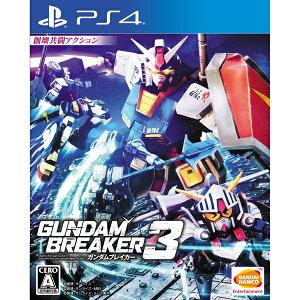 【新品】【PS4】 ガンダムブレイカー3 [PLJS-70051]