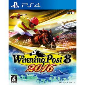 【新品】【PS4】 Winning Post 8 2016 [PLJM-80137][ウイニン…