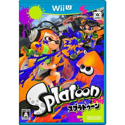 【新品】【Wii U】 Splatoon(スプラトゥーン) [WUP-R-AGMJ][WiiU]【02P30May15】