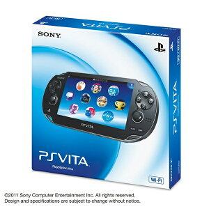 【新品】【PS Vita】 PlayStation Vita (プレイステーション ヴィータ) 本体 Wi‐Fiモデル クリ...