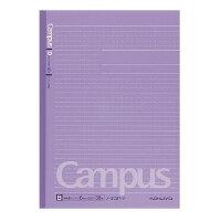 コクヨ(ノ-3CBT-V)キャンパスノートカラー表紙ドット入り罫幅6mm紫