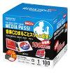 ������(EDC-CME1-100W)CD/DVD�ѥ��եȥ�����MEDIAPASS1�����100�祻�å���