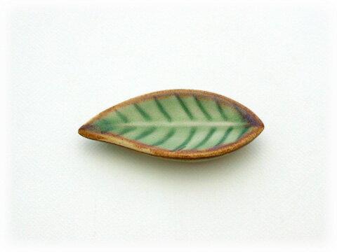 Jenggala ジェンガラ ケラミック Leaf Chopstick Rest