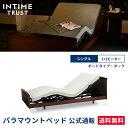パラマウントベッド 電動ベッド インタイム トラスト シングル 97幅 INTIME TRUST ボードタイプ(ダーク) RS-2200D 電動ベッド 【マット