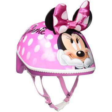 【P5倍・〜5月06日10時+クーポン有】自転車用ヘルメット ベビー 幼児用 ディズニー ミニーマウス 3D 子供用 ヘルメット 1歳 2歳 3歳 反射板付き BELL