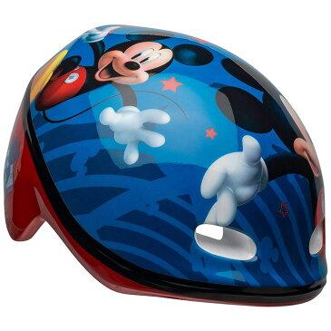 【P10倍・〜5月06日10時+クーポン有】ディズニー ミッキーマウス ヘルメット 子供用 自転車 キッズ キャラクター ミッキー 幼稚園 保育園 子どもヘルメット ベル BELL