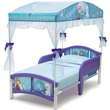 Online ONLY(海外取寄)/ Delta デルタ ディズニー アナと雪の女王 キャノピー付き 子供用 ベッド 女の子 2歳から
