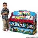 【P5倍・8月4日20時〜+クーポン有】デルタ ディズニー ミッキーマウス デラックス 本棚 おもちゃ箱 3-6歳 Delta 3