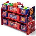 Online ONLY(海外取寄)/ デルタ デラックス 9ビン おもちゃ箱 子供用家具 子供部屋 収納 Delta ディズニー カーズ