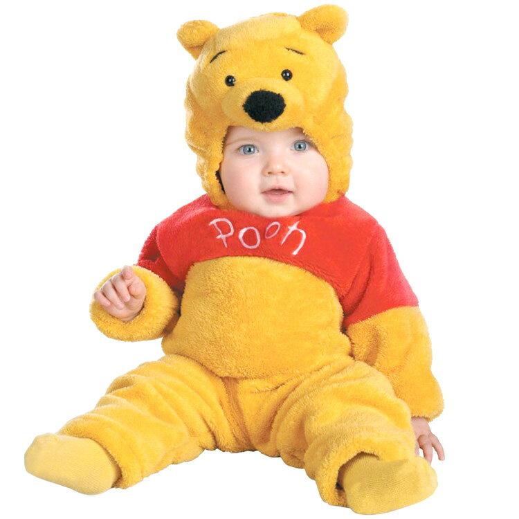 【大決算セール】ディズニー くまのプーさん ハロウィン コスチューム ベビー 赤ちゃん キッズ 子供 70-95cm 衣装 Disguise 6579 ルービーズ画像