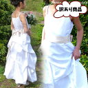 ※※ 訳あり/OUTLET 子供 ドレス フォーマル 女の子 100-115cm アイボリー シャーロット