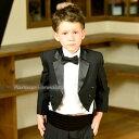 タキシード 子供 男の子 60-130cm ブラック 黒 フォーマル ...