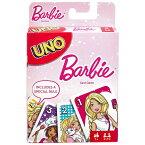 【P2倍・12/01限定+クーポン有】DM便送料無料/ UNO バービー ウノ カードゲーム おもちゃ 新品 キャラクター ライセンス BARBIE