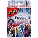 送料無料/ UNO ディズニー アナと雪の女王2 ウノ カードゲーム おもちゃ 新品 キャラクター ライセンス パーティゲーム マテル