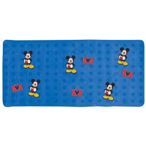ディズニー ミッキーマウス キャラクター バスマット 浴槽・浴室内マット 転倒防止 男の子 女の子