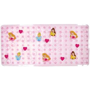 ディズニー プリンセス キャラクター バスマット 浴槽・浴室内マット 転倒防止 女の子
